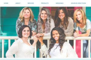 Elizabeth Claire Salon Website