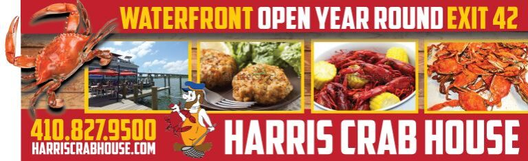 Harris Crab House Billboard