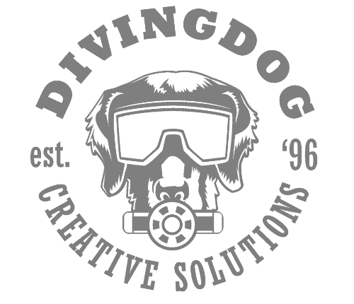 Diving Dog Creative logo